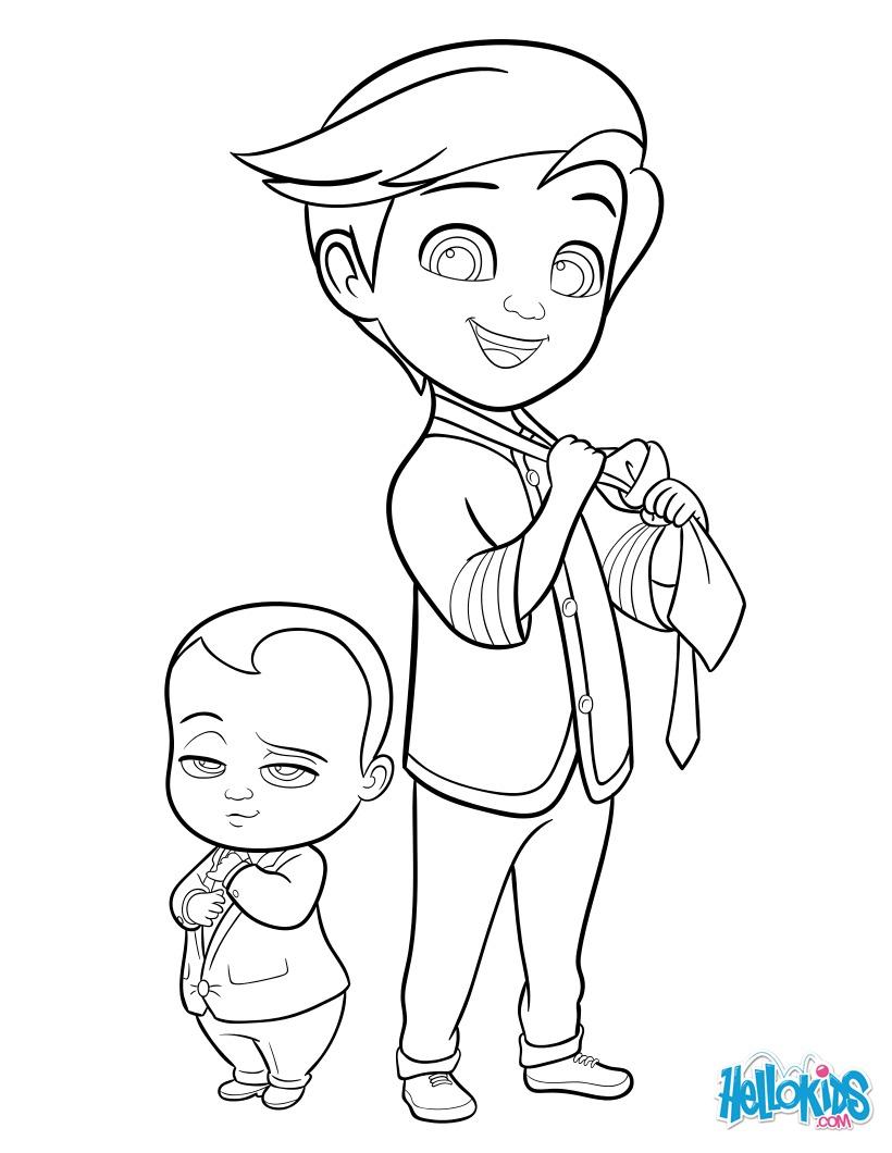 Boss Baby et Tim