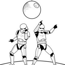 Tanzende Stormtroopers