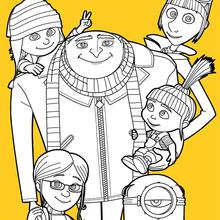 Gru und seine Familie