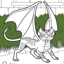 Katze drache