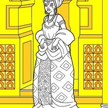 Afrikanische Prinzessin