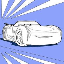 Cars 3 Jackson Storm Zum Ausmalen Dehellokidscom