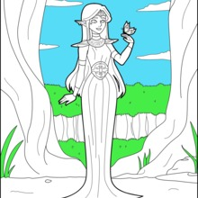 Elf Prinzessin