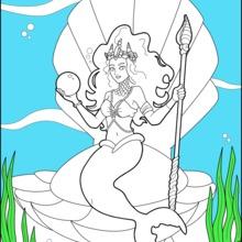 Meerjungfrau Prinzessin