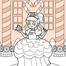 Süßigkeiten Prinzessin
