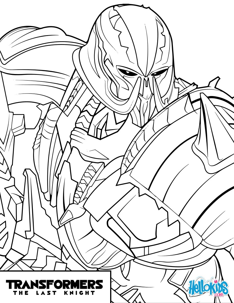 Transformers Megatron Zum Ausmalen De Hellokids Com