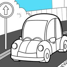 Auto auf der Strasse