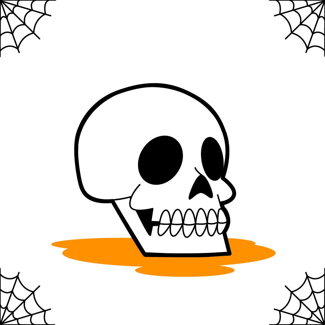 Totenkopf Ausmalbilder Bilder Für Kinder Basteln