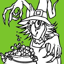 Zaubertrank für Halloween
