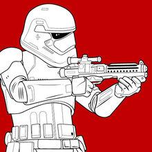 Star Wars Zum Ausmalen Ausmalbilder Ausmalbilder Ausdrucken De Hellokids Com
