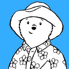 paddington trägt einen Pyjama