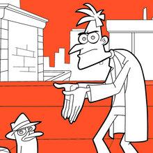 Perry und Dr. Heinz Doofenshmirtz