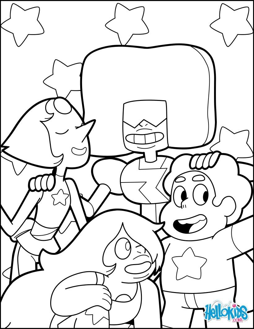 Steven und den drei Gems Garnet