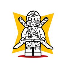 Der Lego Ninja von Ninjago