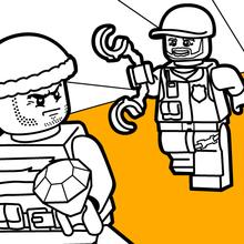 Lego Polizeiverfolgung