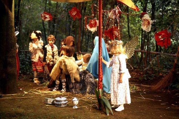 Weihnachtsgeschichte Poster