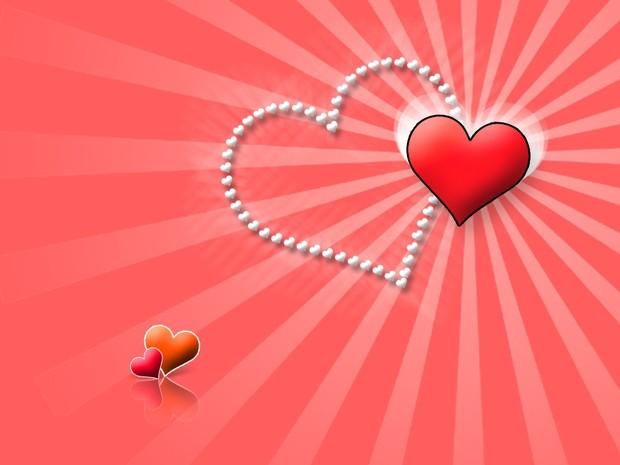 Rosarote Herzen Poster