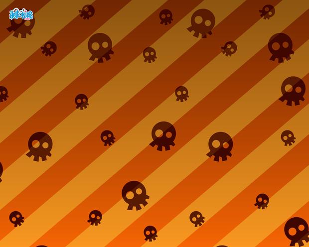 Schädel-Halloween