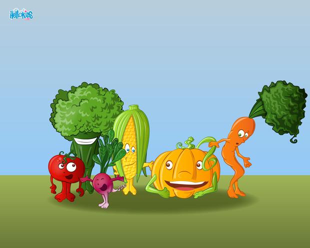 Gemüse Treffen